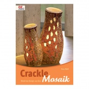 "Книга Crackle Mosaic, ""Две Вазы"""